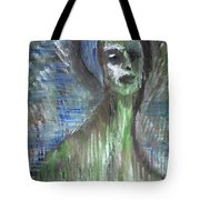 Green Bather Tote Bag