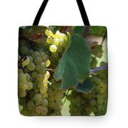 Green Grapes On The Vine 10 Tote Bag