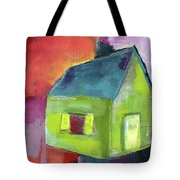 Green House- Art By Linda Woods Tote Bag