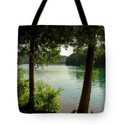 Green Lake, Ny Tote Bag