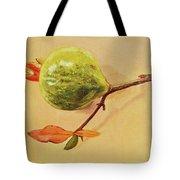 Green Pomegranate Tote Bag