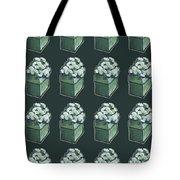 Green Present Pattern Tote Bag
