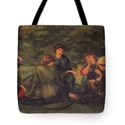 Green Summer 1868 Tote Bag
