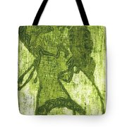 Green Thumb Cheek Girl Tote Bag