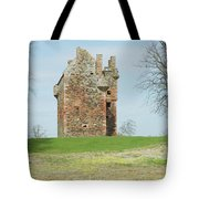 Greenknowe Tower Ruin Tote Bag