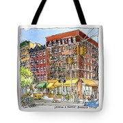 Greenwich Village Laundromat Tote Bag