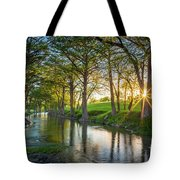 Guadalupe River Sunset Tote Bag