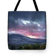 Gunnison Sunset Tote Bag