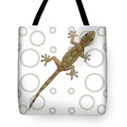H Is For House Gecko Tote Bag