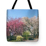 Springtime At Untermyer Park Tote Bag