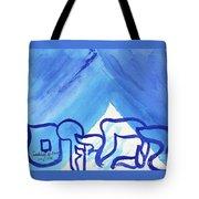Ha Makom  Tote Bag by Hebrewletters Sl