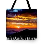Haleakala Hawaii Tote Bag