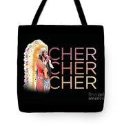 Half Breed Cher Tote Bag
