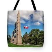 Halifax Explosion Memorial Bell Tower Tote Bag