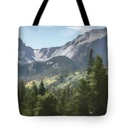Hallett Peak Colorado Tote Bag