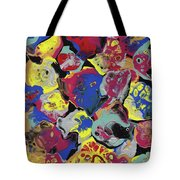 Hammer Flowers Tote Bag