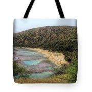 Hanauma Bay Beach Park Tote Bag