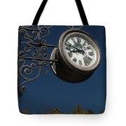 Hanging Clock Tote Bag