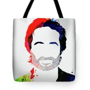 Hank Moody Watercolor Tote Bag