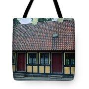 Hans Christian Anderson Childhood Home Tote Bag