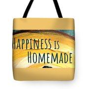 Happiness Is Homemade Tote Bag