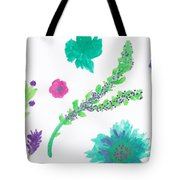 Happy Flower - Pintoresco Art By Sylvia Tote Bag