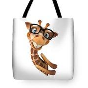Happy Giraffe Tote Bag