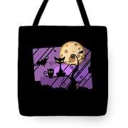 Happy Halloween Cat Tote Bag