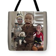 Happy Halloween Toys Tote Bag