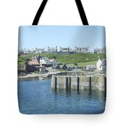 harbour at St. Abbs, Berwickshire Tote Bag