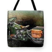 Harley Davidson 1942 Experimental Army Tote Bag
