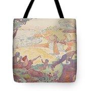 Harmonious Times By Signac Tote Bag