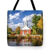 Harrisville, New Hampshire Church Tote Bag