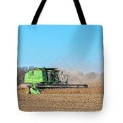 Harvesting Soybeans Tote Bag