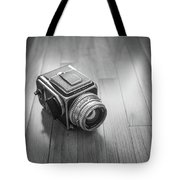 Hasselblad On The Floor Tote Bag
