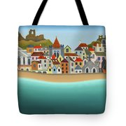 Hastings From The Sea Tote Bag