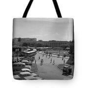 Havana Bus Park Tote Bag