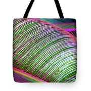 Hawaii Plants And Leaves Tote Bag