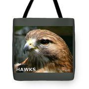 Hawks Mascot 2 Tote Bag