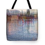 Hawthorn Bridge Tote Bag