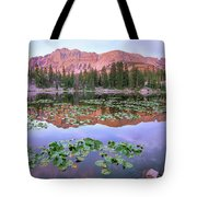 Hayden Peak And Butterfly Lake, Uinta Tote Bag