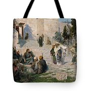 He That Is Without Sin, 1908 Tote Bag