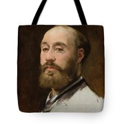 Head Of Jean Baptiste Faure        Tote Bag