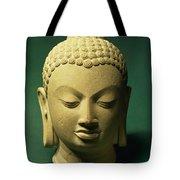 Head Of The Buddha, Sarnath Tote Bag