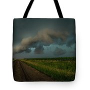 Heather's Birthday Storm Tote Bag