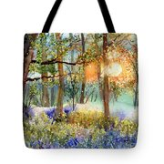 Heathers In Gold Tote Bag