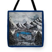 Heaven On Earth Number Four Tote Bag