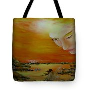 Heavenly Protection Tote Bag