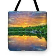 Heavenly Reflections In The Hill Country Tote Bag
