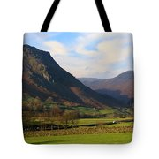 Helm Crag And Wythburn Fells Above Grasmere In The Lake District Tote Bag